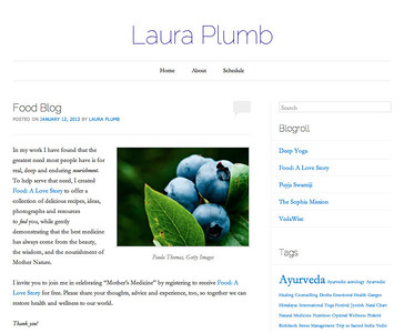 Blueberries on lauraplumb.com