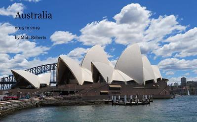 Australia 2015 to 2019 Photobook