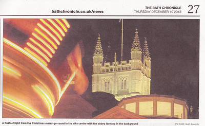 Bath Chronicle 19 Dec 2013