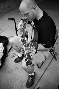 brad hoyt, composer, pianist, harp guitarist.