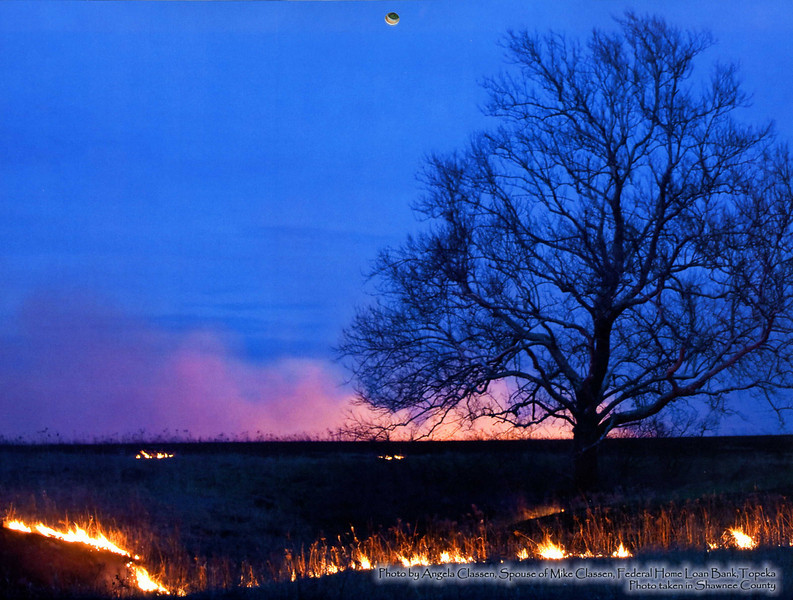 "Featured photo for April 2010 in Kansas Banker's Association's ""Scenes of Kansas"" calendar"