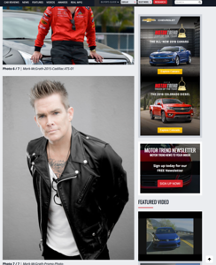 Mark McGrath on MotorTrend.com