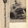 First issue of newspaper The Solomons News Drum in Solomon Islands, South Pacific 1974