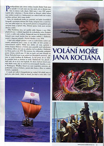 Czech Diving magazine, Spring 2008 issue.