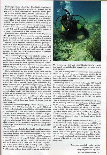 """Czech Dive magazine """"Dobra Voda"""", Fall 2008 issue.<br /> Article and photos about my friend Jan Bem. I provided the photo of Jan at Bimini, Bahamas."""