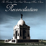 "CD Cover Bowling Green State University Men's Chorus - ""Reconciliation"" <i>Photo of the Pennsylvania Monument in Gettysburg, PA</i>  Unfortunately, was not compensated or credited for this!"
