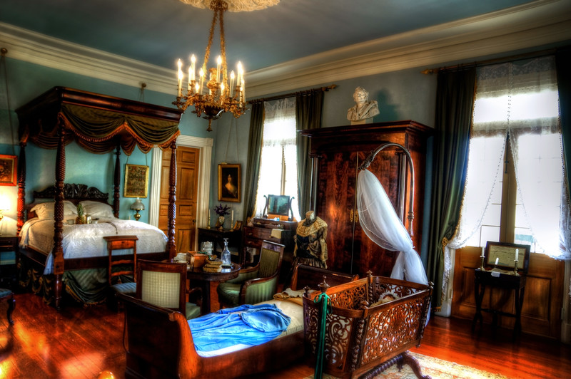 """The Blue Room"" taken at Oak Alley Plantation"