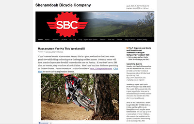 Shenandoah Bicycle Company - Harrisonburg, VA