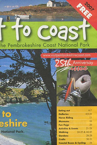 Puffin on cover of Coast to Coast magazine.