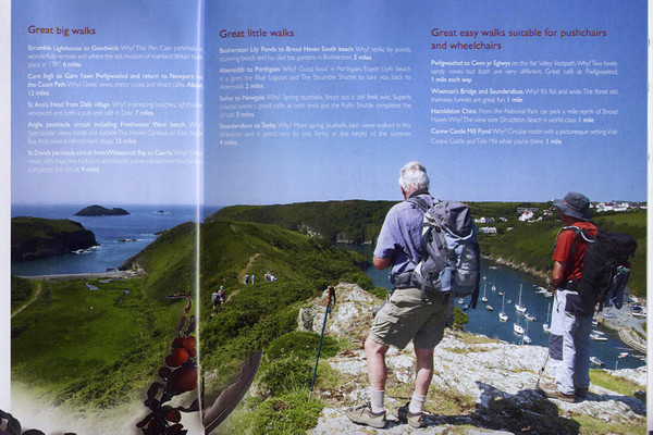 Photo featured in Pembrokehire Tourism, 2011