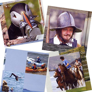 Photos featured in Pembrokeshire Brochure, 2010