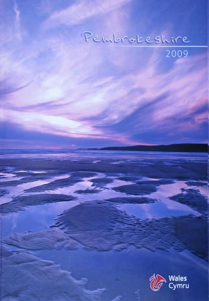 Cover photo of Pembrokeshire 2009 Tourist Brochure.