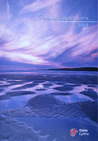 Cover photo of Pembrokeshire 2009 Tourist Brochure.