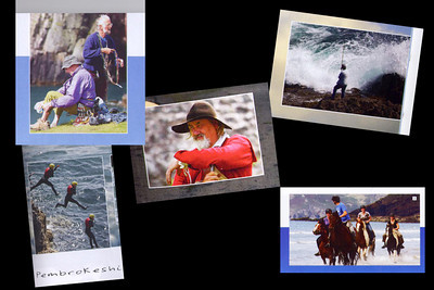 Photos featured in Pembrokehire Tourism, 2011