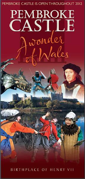 Photo featured in Pembroke Castle Souvenir Guide, 2012. (Castle)