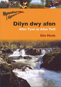 Cenarth Falls on front cover on Welsh book.