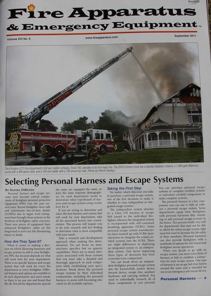 Fire Apparatus & Emergency Equipment magazine cover September 2011
