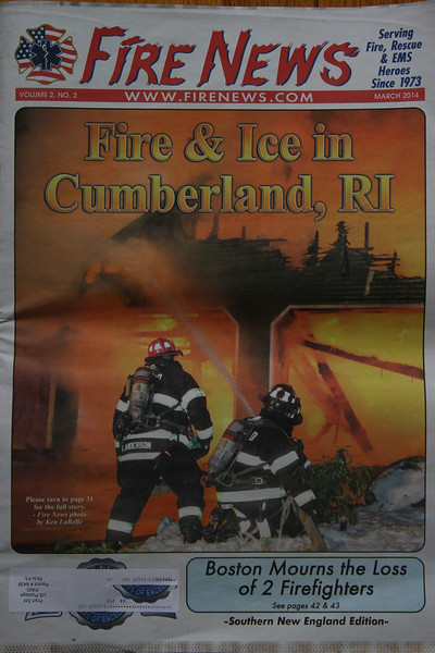 March 2014 Fire News . Numerous pictures inside