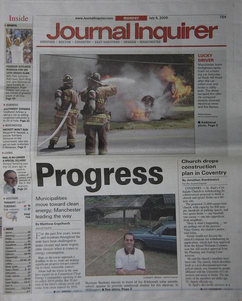 """Journal Inquirer newspaper 7/6/09 page 1<br />  <a href=""""http://squadfirephotos.smugmug.com/2009/MVAs/Manchester-Ct-MVA-with-fire/8793862_nbx8m#582209831_2bdLT"""">http://squadfirephotos.smugmug.com/2009/MVAs/Manchester-Ct-MVA-with-fire/8793862_nbx8m#582209831_2bdLT</a>"""