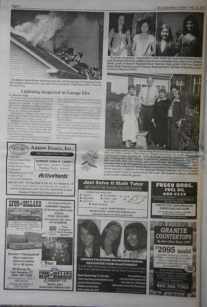 """Glastonbury Citizen newspaper 7/22/10 page 4<br />  <a href=""""http://squadfirephotos.smugmug.com/2010/Fires/Glastonbury-Ct-WF-2/12991761_bwKct#940102749_p45p7"""">http://squadfirephotos.smugmug.com/2010/Fires/Glastonbury-Ct-WF-2/12991761_bwKct#940102749_p45p7</a>"""