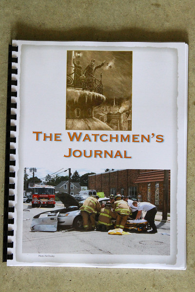 The Watchmens Journal which is a publication from the members of the Manchester, Ct Fire Rescue EMS Dept. I have numerous pictures in it.