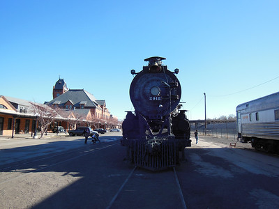 Pueblo Railway Museum & Active rail yard