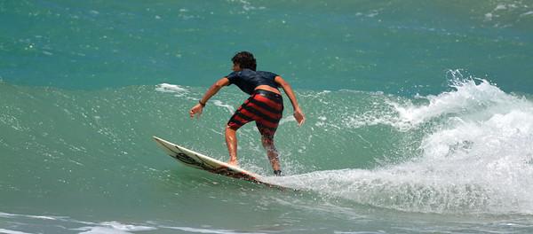 Puerto Rico surfer