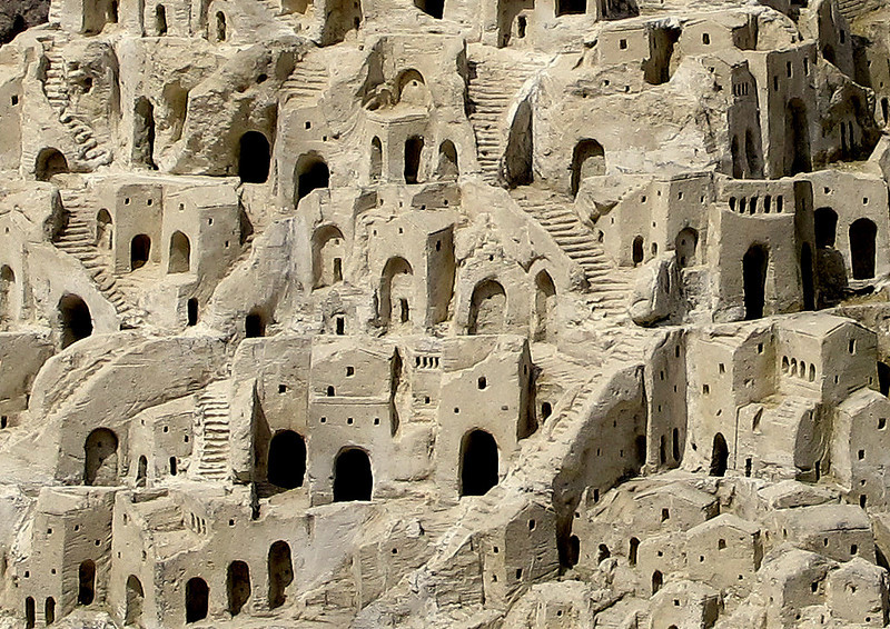 On to Matera and a detail of a model of the cave houses here which are now protected by UNESCO