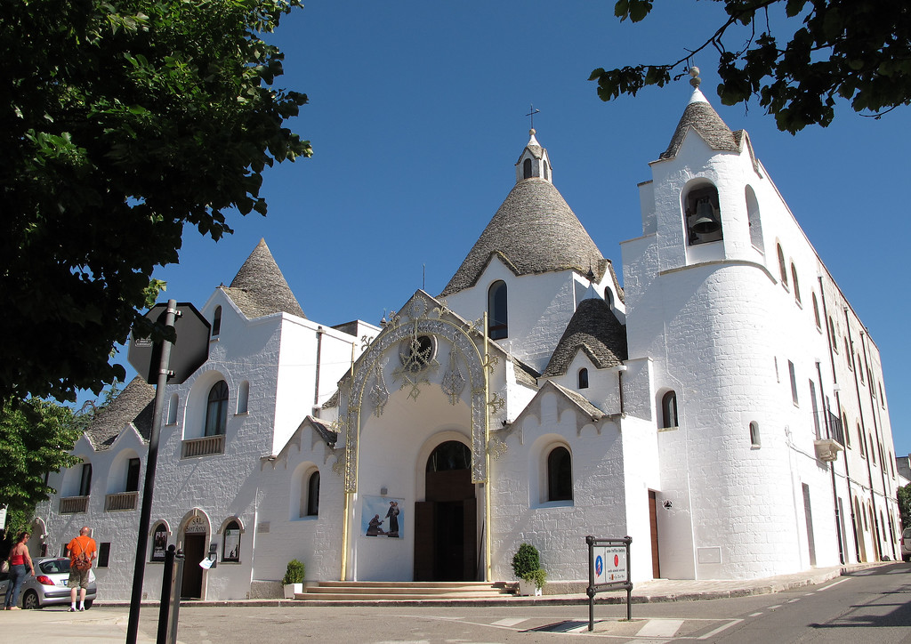 The Trulli church.