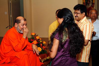 Pujya Guruji's Visit @Saaket - 2012