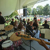 The Band's view of the wonderful day