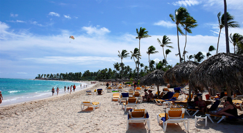 The beach at the Iberostar Bavaro, Punta Cana, D.R.