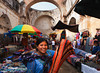 NEW m139, CO4 / Choice 4 of 10<br /> <br /> <br /> Antigua, Guatemala --- Mayan women working at textile market in Santa Catalina church ruins --- Image by © Danny Lehman/Corbis