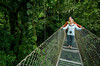 "Fig 6.63 / People doing something ""ecotouristy"" in Costa Rica, such as hiking through forest, ziplinig<br /> Choice 8 of 8 / Getty<br /> <br /> Arenal Hanging Bridges, Costa Rica"