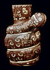 m531, Fig 13.13 Incan Pottery / Choice 5 of 8<br /> <br /> <br /> PERU: INCA SERPENT JAR. <br /> Inca ceramic jar in the shape of a coiled serpent, from Lima, Peru, 13th to 16th century.