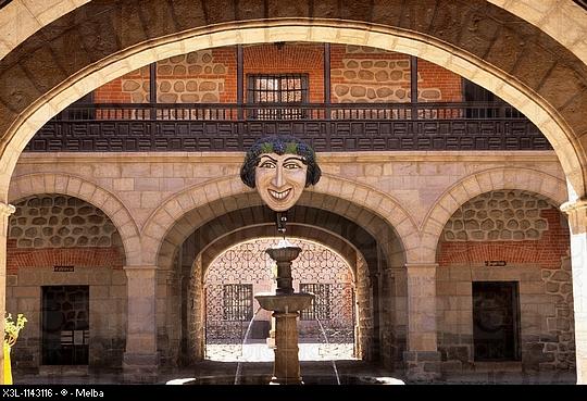 m523, Fig 13.06: Photo Casa de la Moneda in Potosi Bolivia<br /> Choice 8 of 9<br /> <br /> <br /> Casa de la Moneda Entrance  Potosi  Bolivia