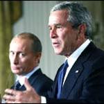 Bush meets Putin 02
