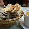 Arab Bread and Lentil Soup