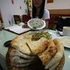 Arab Bread and Hummus