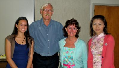 Sarah, Gary, Leah & Qingchu