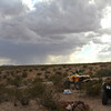 """My quad was purchased as a pit bike and hasen't seen a nice desert ride like this since I've owned it. I see now why they call it a """"Rancher"""" though!"""