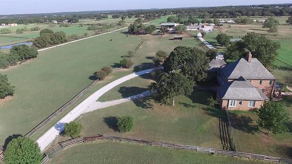 Quail Run Farm From Air