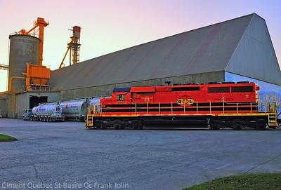 Quebec Gatineau, Ciment Québec Plant, St-Basile Qc September 25 2014