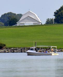 Barn and Boat