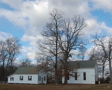 Country Church and Church Hall in Starr