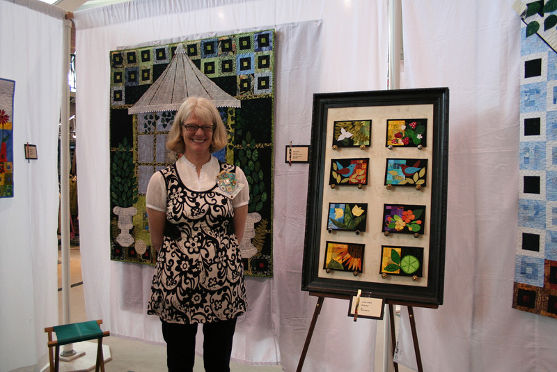 Carol Paschal and her work. She was so nice to talk to. I actually had to make myself walk away, having just moved here and not knowing anyone I could have talked her ear off! I didn't want to come across as a physco, I don't have many people here to chat with, and being at the show without my best friend to chat with made me crazy.  i just walked around alone with the stupid smile on my face all day :).   But, she was nice and talked to me for awhile and made me feel comfortable.