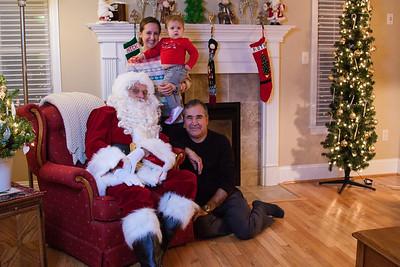 Quinn Santa Visit 2014