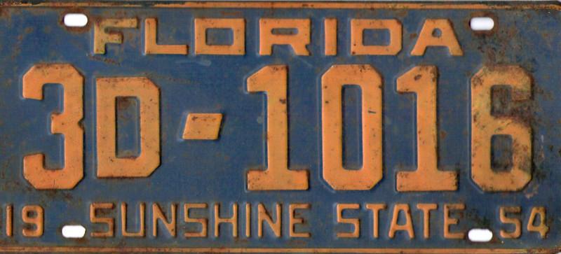 Florida driving license - sunshine state