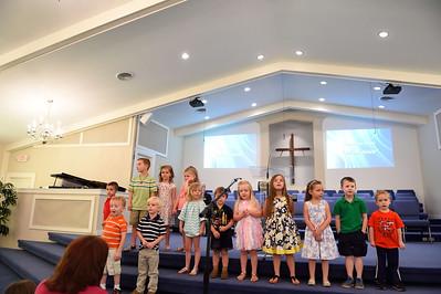 RBC's Pre-School Choir, June 7, 2015