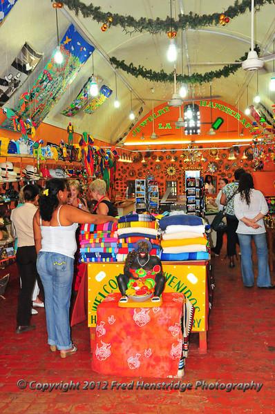 Las Bóvedas shopping district, old town Cartagena